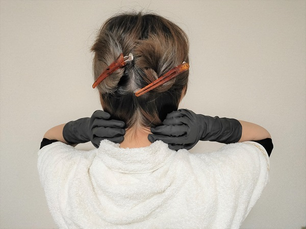 カラーリング、美容師