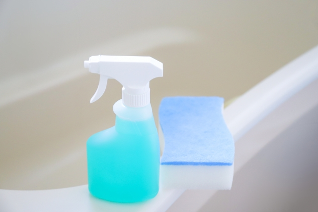 お風呂場、掃除